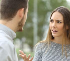 בני זוג בוויכוח צילום: שאטרסטוק