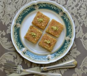עוגת סולת צילום: shutterstock